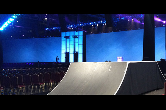 Corporate events extreme sport show